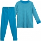 Preview: Living Crafts Kinder Pyjama petrol, 134/140