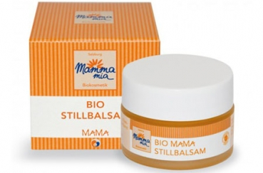 Mammamia Bio Stillbalsam, 15 ml Glastiegel