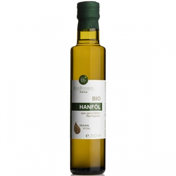 BioBloom Bio Hanföl, 250 ml