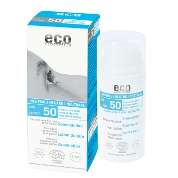 Eco Cosmetics Sonnenlotion neutral LSF 50, 100 ml