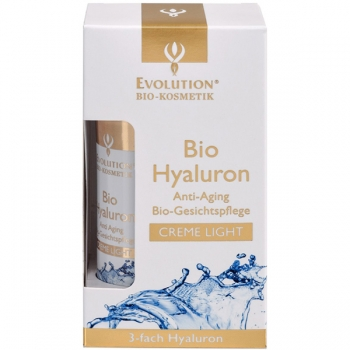 Evolution Bio Hyaluron Creme light, vegan, 50 ml