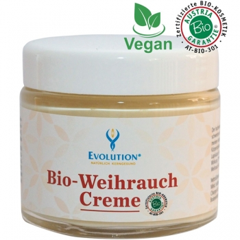 Evolution Bio Weihrauch Creme, vegan, 100 ml