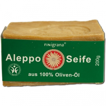 Finigrana Alepposeife, 100 % Olivenöl, ca. 200 g