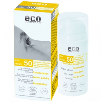 Eco Cosmetics Sonnenlotion LSF 50, 100 ml