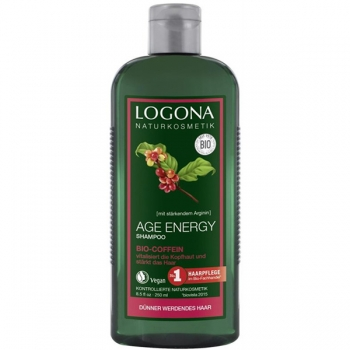 Logona Age Energy Shampoo Bio-Coffein, 250 ml