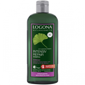 Logona Intensiv Repair Shampoo Ginkgo, 250 ml