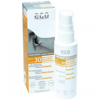 Eco Cosmetics Sonnenöl LSF 30, 50 ml Spray
