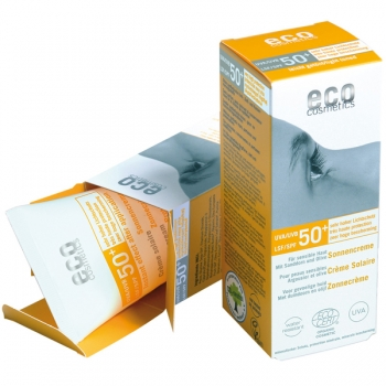 Eco Cosmetics Sonnencreme LSF 50+, getönt, 75 ml