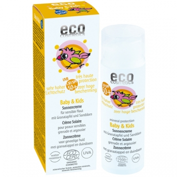 Eco Cosmetics Sonnencreme Baby & Kids LSF 50+, 50 ml