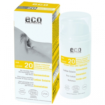 Eco Cosmetics Sonnenlotion LSF 20, 100 ml