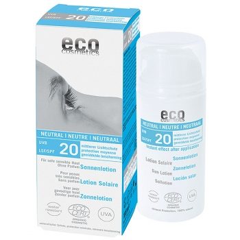 Eco Cosmetics Sonnenlotion neutral LSF 20, 100 ml