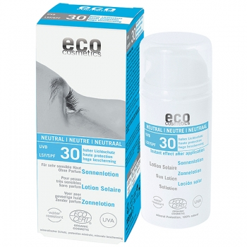 Eco Cosmetics Sonnenlotion neutral LSF 30, 100 ml
