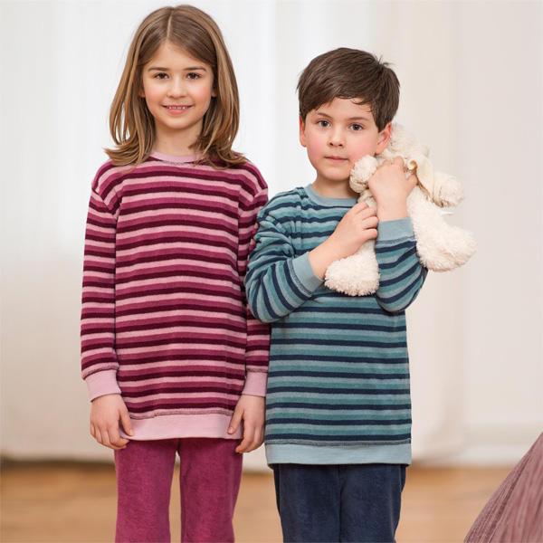 bestbewertetes Original Kaufen Sie Authentic außergewöhnliche Auswahl an Stilen und Farben Living Crafts Kinder Frottee-Schlafanzug mineral oder berries