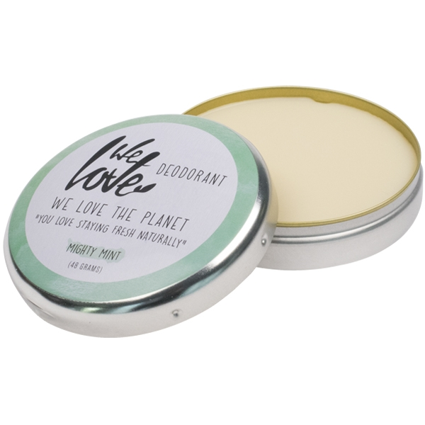 We love the Planet Deocreme Mighty Mint, 48 g Dose