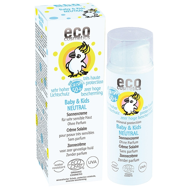 Eco Cosmetics Sonnencreme neutral Baby&Kids, LSF 50+, 50 ml