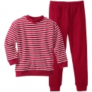 Living Crafts Kinder Pyjama, zweiteilig, rot, Gr.104